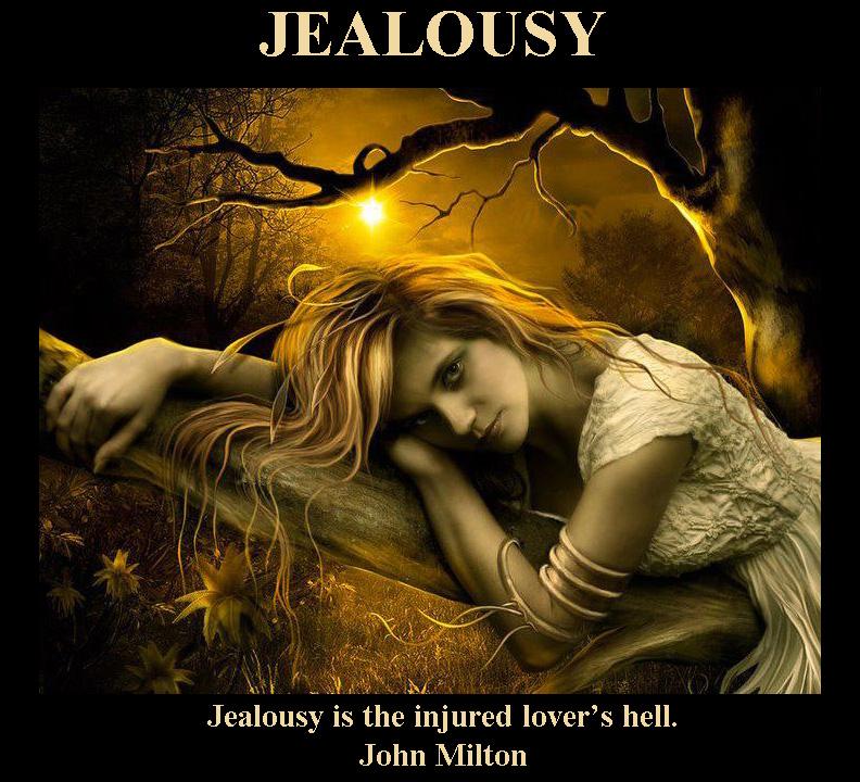 Jealousy - Green eyed monster