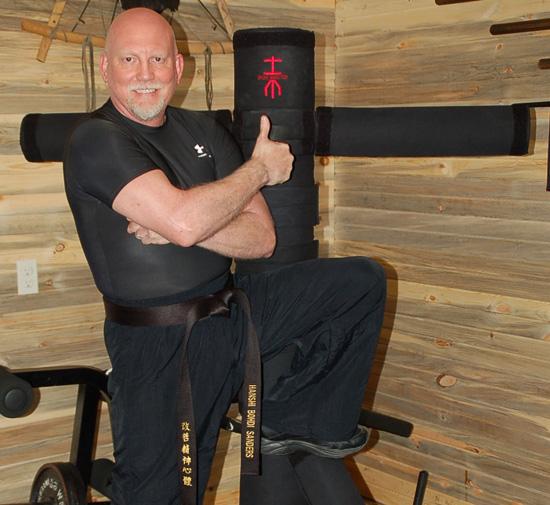 The Iron Master - Martial Arts Training Machine - Bohdi Sanders