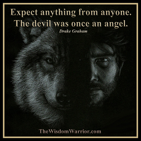 Wolf, man, quotes