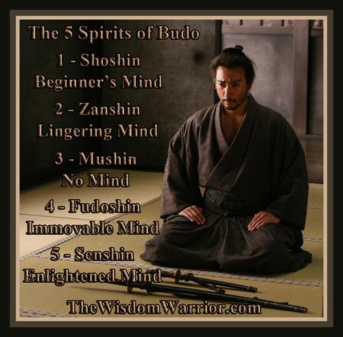Bushido the five spirits of budo the wisdom warrior