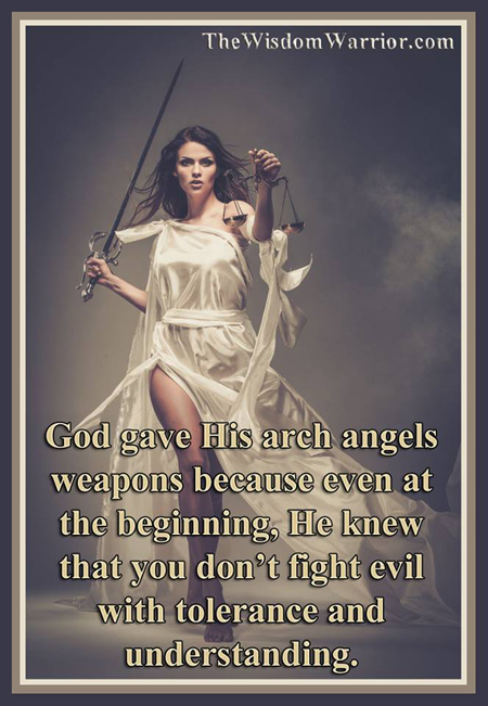 Fight Evil with the Right Weapons