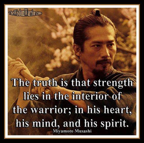 Musashi - spirit, mind, body - Bohdi Sanders