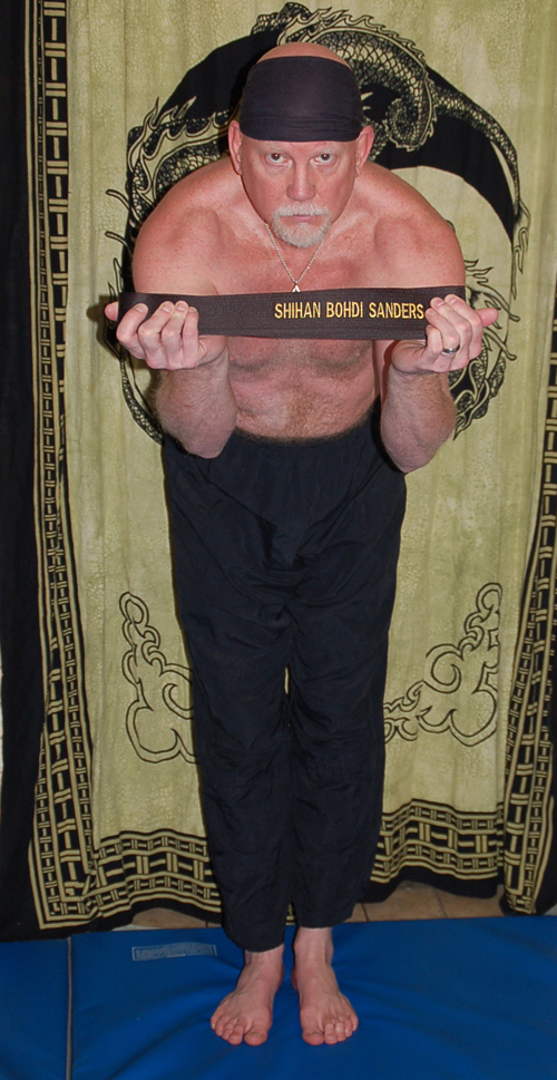 Bohdi Sanders is awarded the martial arts title of Shihan
