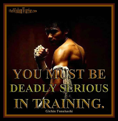 Deadly Serious Martial Arts
