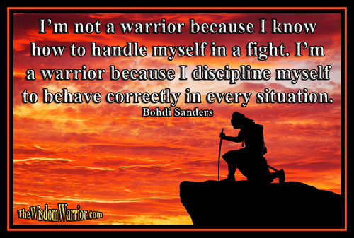 What Makes a True Warrior or Martial Artists