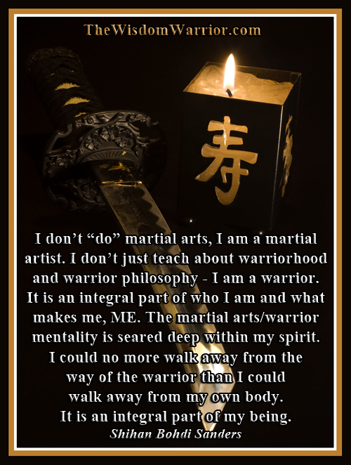 Martial Artist and Warrior - Bohdi Sanders